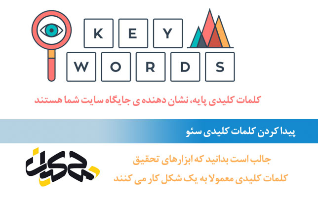 پیدا کردن کلمات کلیدی سئو